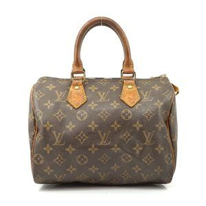 Auth Louis Vuitton Speedy 25 Hand Bag #5956L16